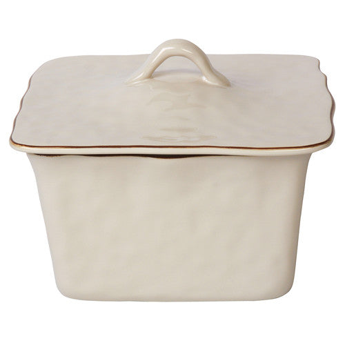 Skyros Cantaria Ivory Square Covered Casserole