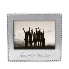 "Mariposa ""Remember this Day"" Frame"