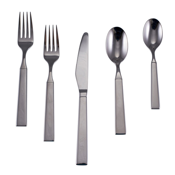 WOODSTOCK 5-PIECE FLATWARE SETTING IN GIFT BOX