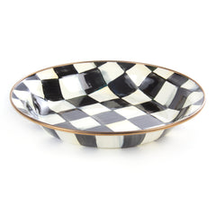 Mackenzie Childs Courtly Check Pie Plate