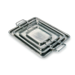 Match Large Rectangle Tray W/Handles