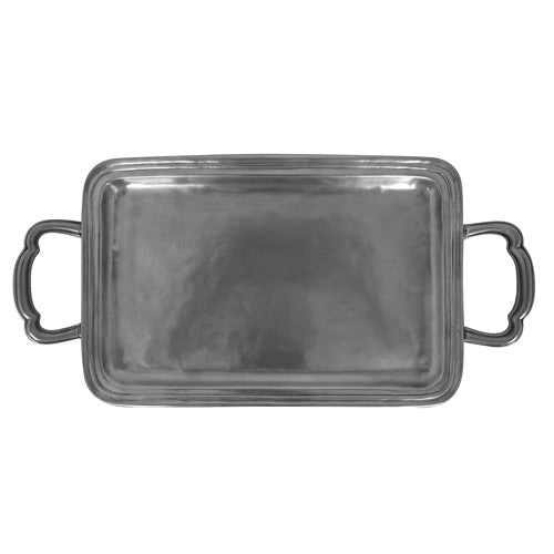 Match LAGO RECTANGLE TRAY W/HANDLES, SM