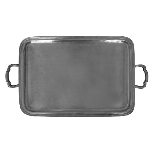 MATCH LAGO RECTANGLE TRAY W/HANDLES, LG
