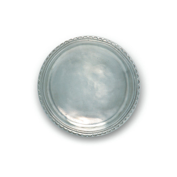 Match Scallop Rimmed Bottle Coaster