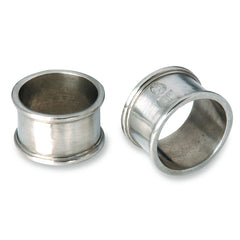 Match Round Pair of Napkin Rings