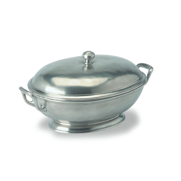 Match Footed Oval Tureen W/Handles