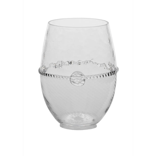 Juliska Graham Stemless White Wine Clear