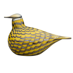 Iittala Toikka Yellow Grouse Bird