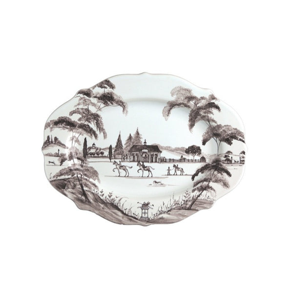 Juliska Country Estate Flint Medium Serving Platter