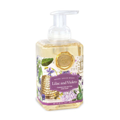 Michel Designs Lilac & Violets Foaming Hand Soap