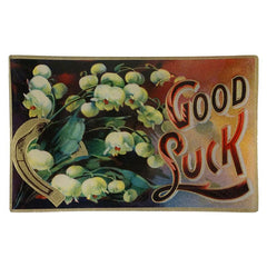 "John Derian ""Good Luck"" Tray"