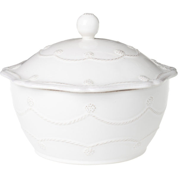 Juliska Berry and Thread Sm Covered Casserole Whitewash
