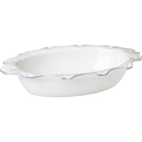 Juliska Berry and Thread Sm Oval Baker Whitewash