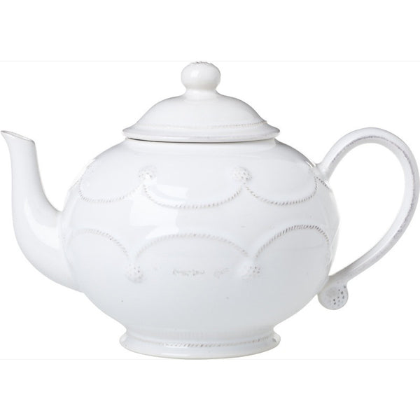 Juliska Berry and Thread Teapot Whitewash