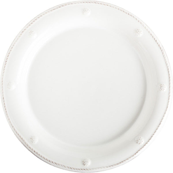 Juliska Berry and Thread Dessert/Salad Plate Whitewash