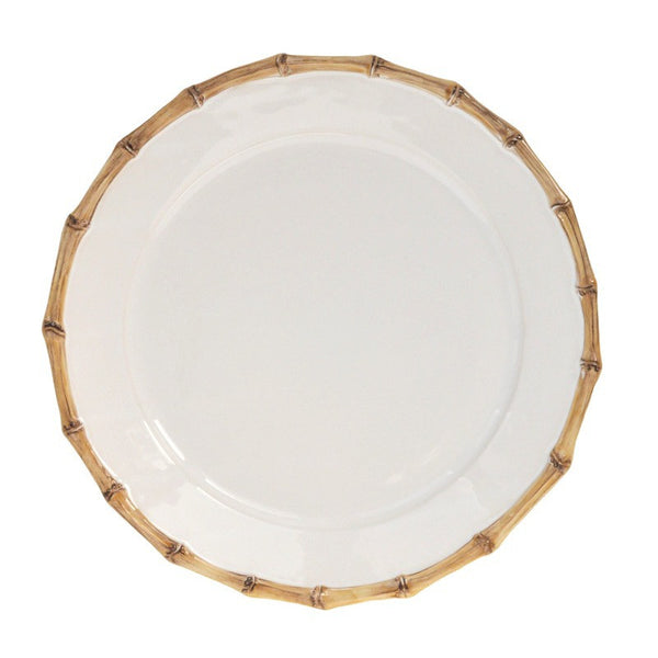 Juliska Classic Bamboo Round Charger/Server Plate