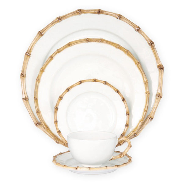 Juliska Classic Bamboo 5pc Setting