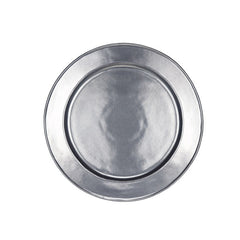 Juliska Pewter Stoneware Round Charger/Server Plate