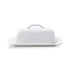 Juliska Whitewash Puro Butter Dish