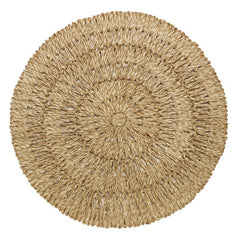 Juliska Straw Loop Round Placemat Natural