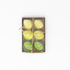 Lemon and Lime Tealights