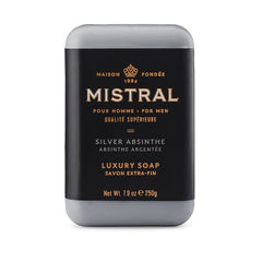 Mistral Men's Silver Absinthe Bar Soap