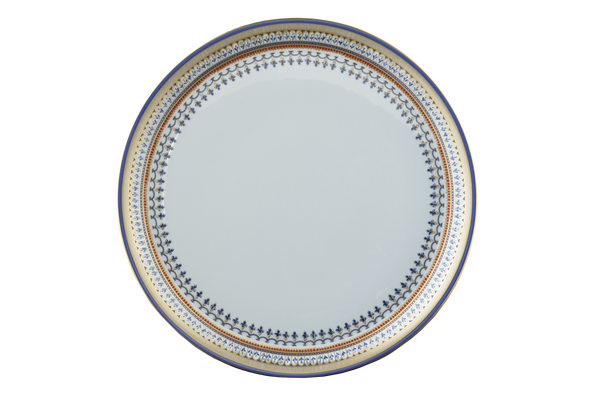 Mottahedeh Chinoise Blue Cake Plate