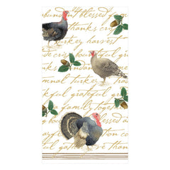 Caspari Founders' Thanksgiving Guest Towel Napkins