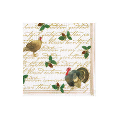 Caspari Founders' Thanksgiving Dinner Napkins