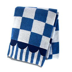 Mackenzie Childs Royal Check Bath Towel