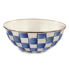 Mackenzie Childs Royal Check Everyday Bowl- M