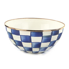 Mackenzie Childs Royal Check Everyday Bowl- S