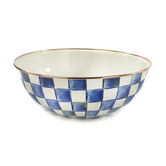 Mackenzie Childs Royal Check Everyday Bowl- XL