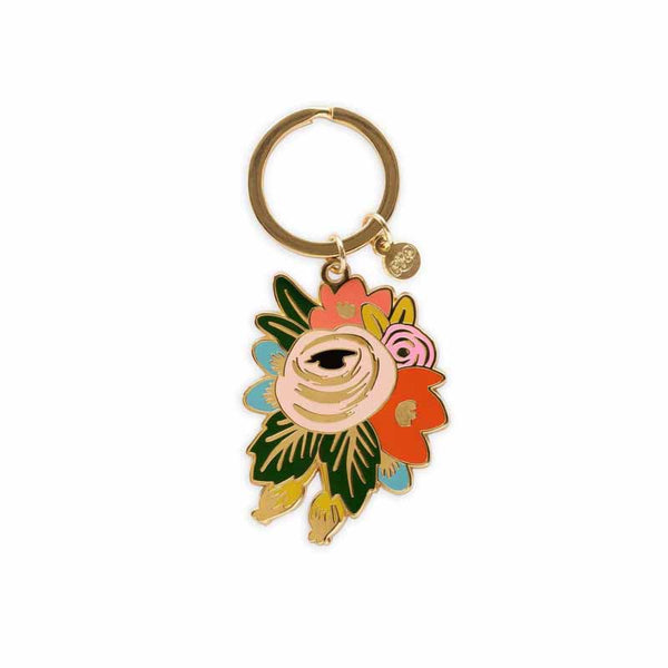 Rifle Paper Rosa Key Chain