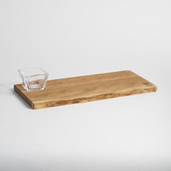 Andrew Pearce/ Simon Pearce Collaboration Cherry Board & Glass Bowl