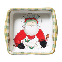 Vietri Old St. Nick Square Baking Dish