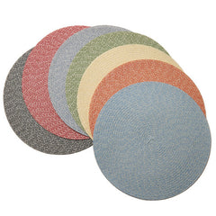 Deborah Rhodes Pastel Tweed Placemats (set of 6)