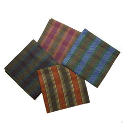 Deborah Rhodes Winter Plaid Napkin (Set of Six)
