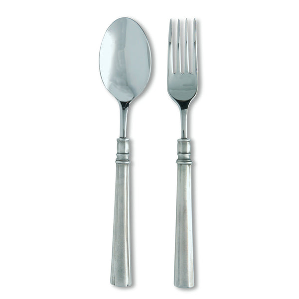 Match Lucia Serving Fork & Spoon