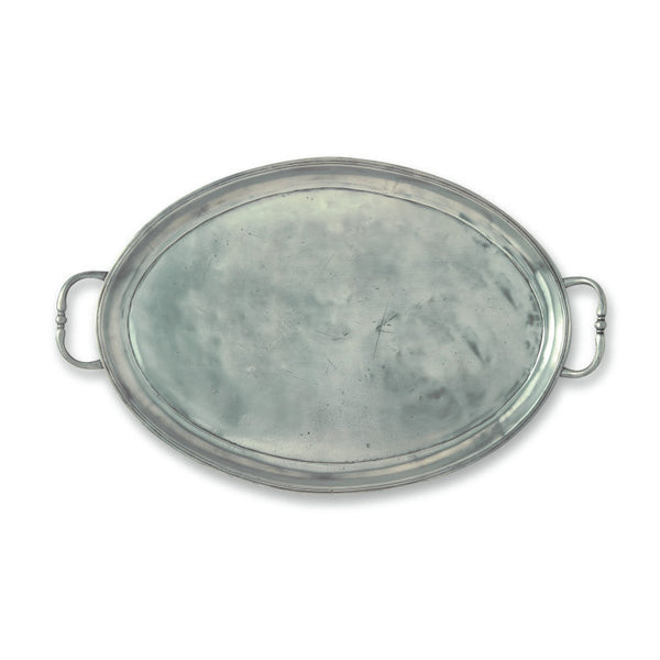 Match Oval Medium Tray W/Handles