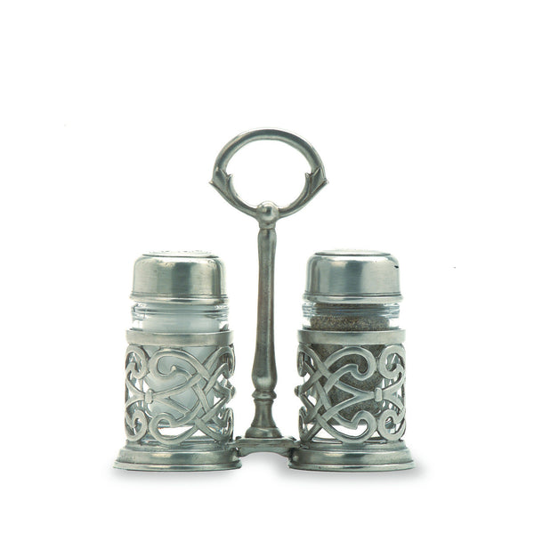 Match Cutwork Salt & Pepper Caddy