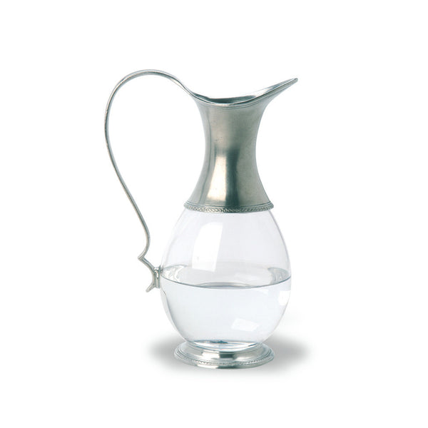 Match Glass Pitcher W/Handle