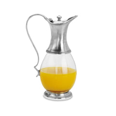 Match Glass Pitcher W/Lid
