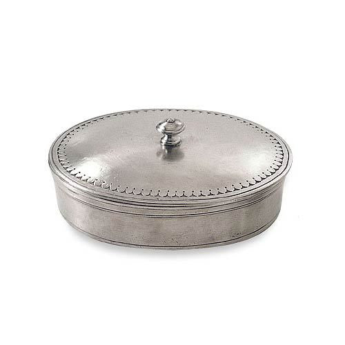 Match Oval Large Lidded Box