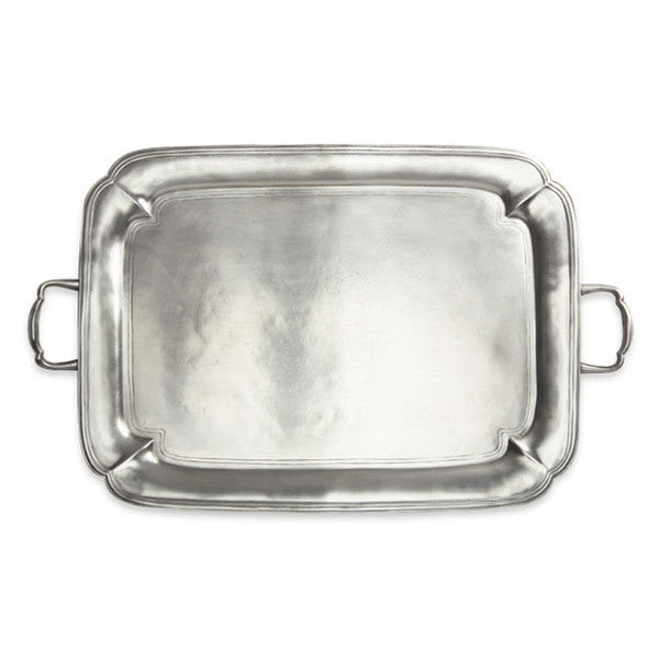 Match Parma Large Rectangle Tray W/Handles