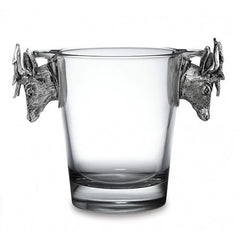 Arte Italica Animale Glass Ice Bucket