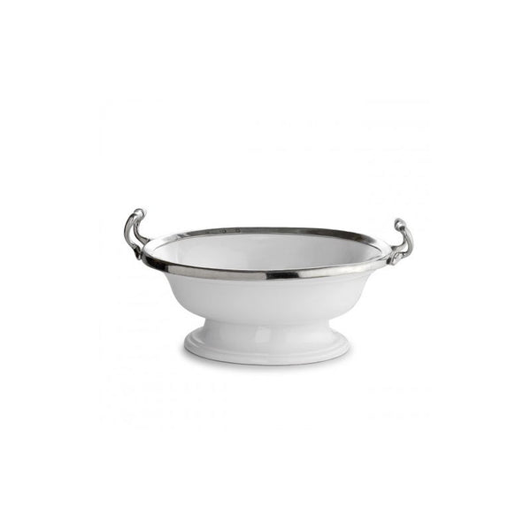 Arte Italica Tuscan Oval Bowl with Handles