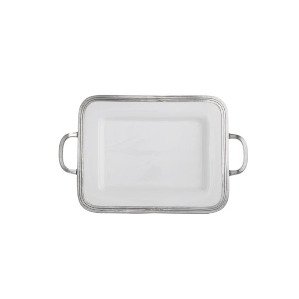 Arte Italica Tuscan Small Tray with Handles