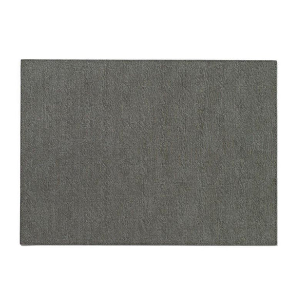 Bodrum Presto Charcoal Rectangle Placemats S/6