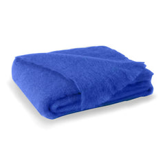 Lands Downunder Brushed Mohair Throw - Cobalt
